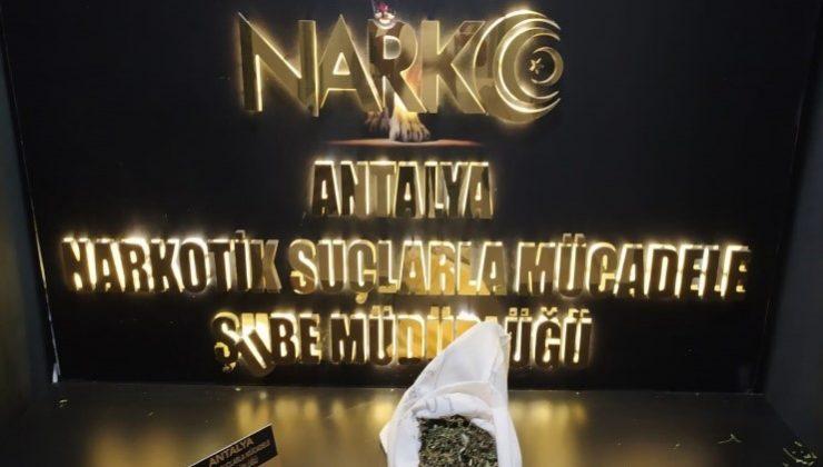 Antalya'da narkotik polisinden uyuşturucu tacirlerine ağır darbe