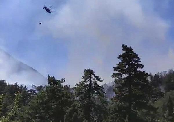 Antalya'da  orman yangını / Ek fotoğraf