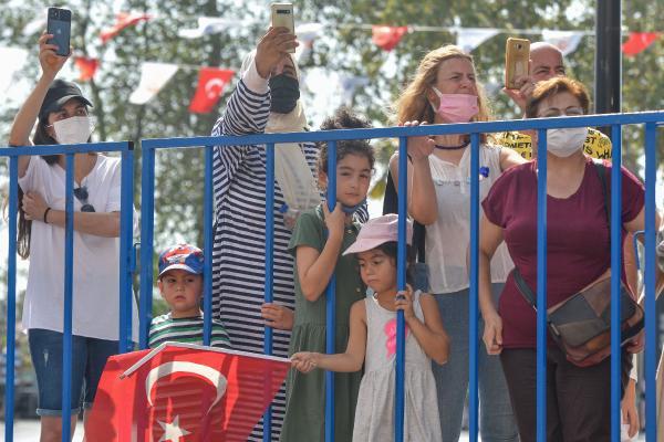 Antalya'da zafer coşkusu