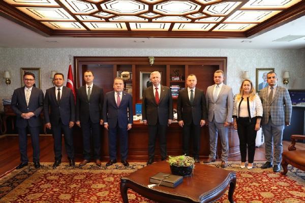Başkan Muhittin Böcek THK işbirliği protokolü ön toplantısına katıldı