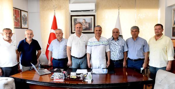 Başkan Uysal, ulaşım esnafını ziyaret etti