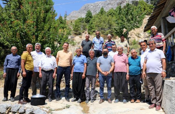 Başkan Yücel, Dim bölgesi yaylalarını ziyaret etti