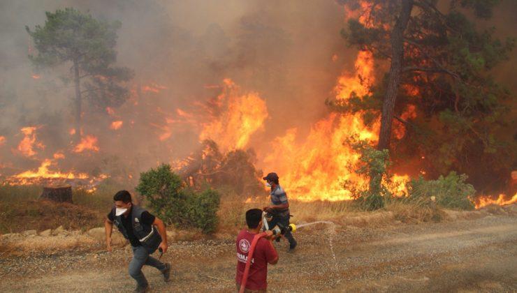 Bir mahalle yanmaktan son anda böyle kurtarıldı