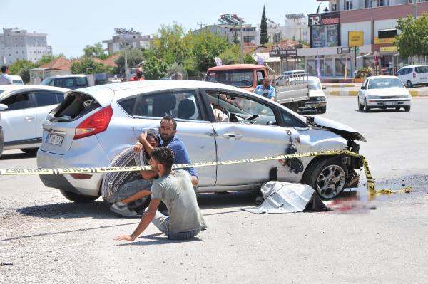 Camından yola savrulduğu otomobil üzerine düşen Bedirhan öldü