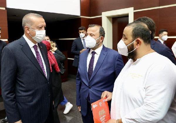 Cumhurbaşkanı Erdoğan'ı Elmalı'ya davet etti