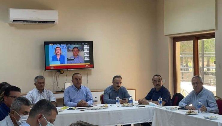 """Dışişleri Bakanı Çavuşoğlu: """"Çiftçimizin uğradığı tüm zararları karşılamak için yoğun bir şekilde çalışıyoruz"""""""