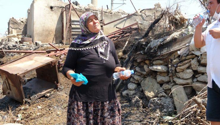 Evi ve parası yanan Cemile Teyze'ye Hollanda'daki Türklerden 15 bin TL