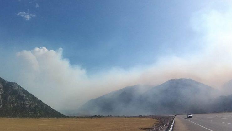 Eynif Ovası'nda dumanlar yeniden yükseldi