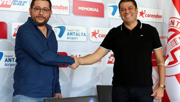 FT Antalyaspor'da marka işbirliği anlaşması