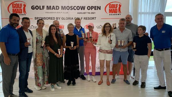 Golf Mad Moskow Open Golf Turnuvası yapıldı