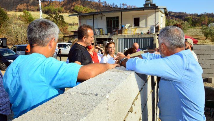 Haluk Levent, yangın felaketinin yaşandığı Manavgat'ta