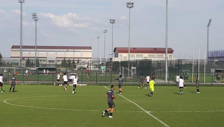 Hazırlık maçı: Serik Belediyespor: 2 – Nazilli Belediyespor: 0