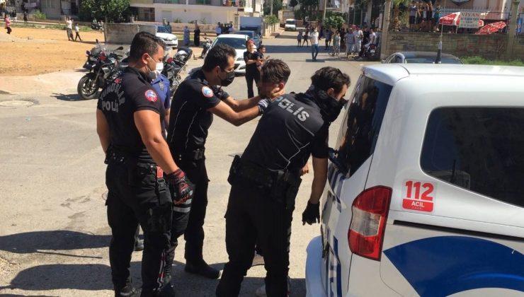 Husumetli aileler birbirine girdi, polis ayırmakta güçlük çekti