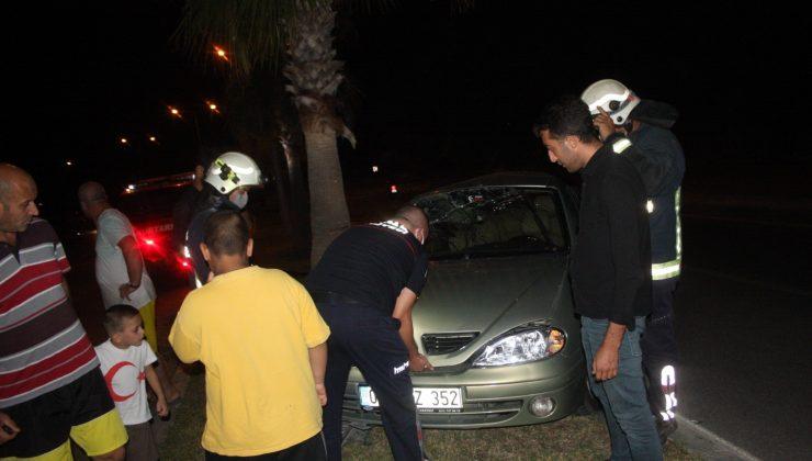 Kaza yerinden kaçıp karakola giden sürücü alkollü çıktı