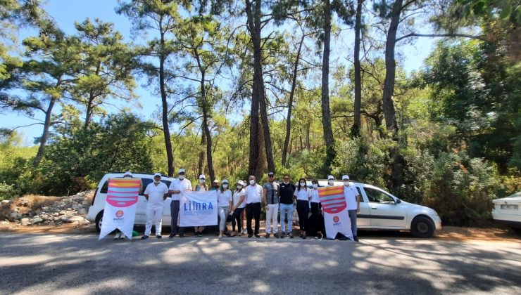Kemeler Belediyesi ve KETOB'dan çevre temizliği