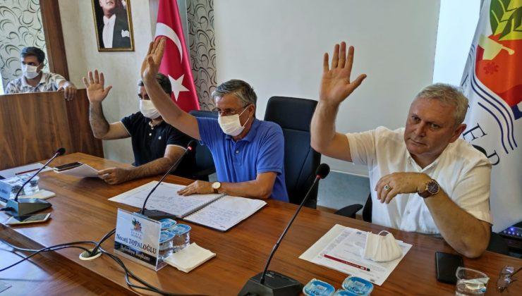 Kemer Belediyesi Olağanüstü Meclis Toplantısı yapıldı