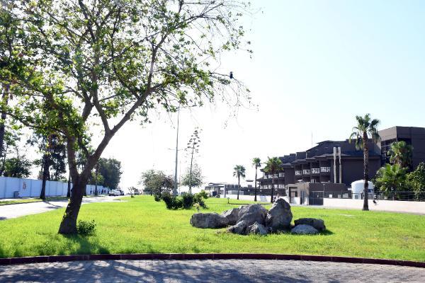 Kemer Belediyesi'nden yeni park
