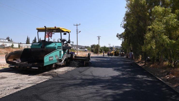 Kepez Belediyesi'nden Santral ve Kepazaltı mahallesine modern yol
