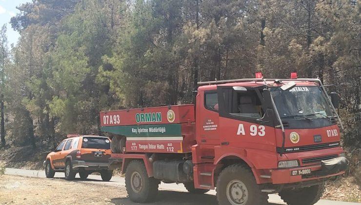 Kepez'den yangın soğutma çalışmalarına destek