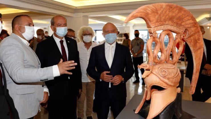 Kıbrıs'ta açılan Likya seramikleri sergisinde ALKÜ izi