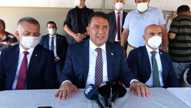 KKTC Başbakanı Ersan Saner'den Manavgat'a 17 milyonluk katkı