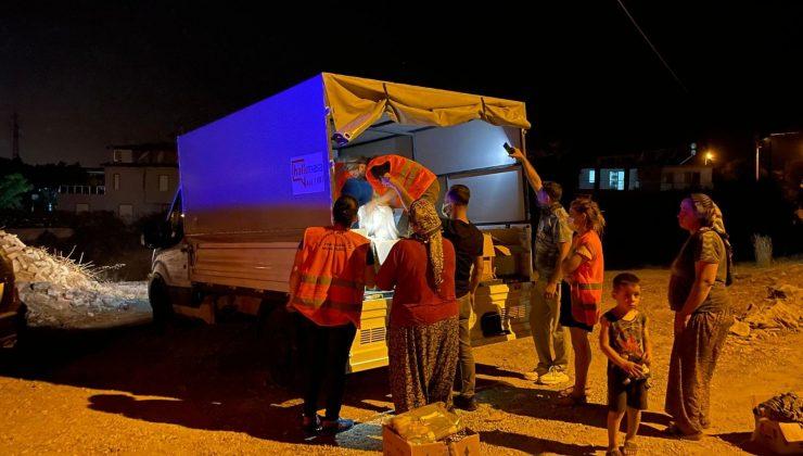 Konyaaltı Belediyesi yangın bölgesinde