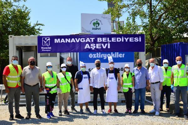 Manavgat'ta 4 mahalleye aşevi