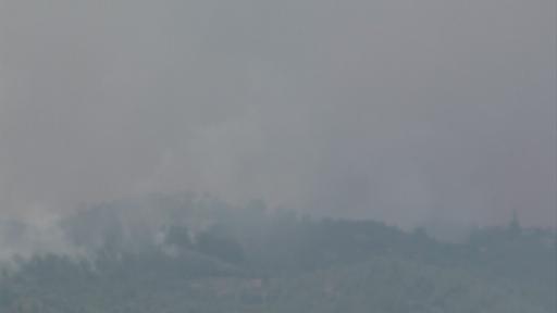 Manavgat'ta çıkan orman yangını 6'ıncı gününde devam ediyor