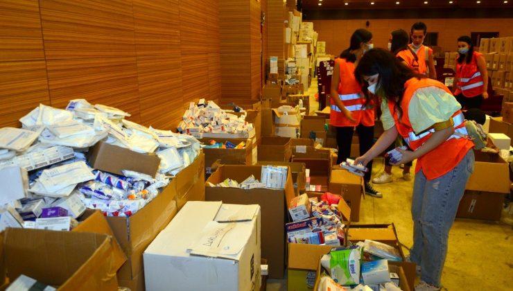 Manavgat'ta ilaç dağıtımı başladı
