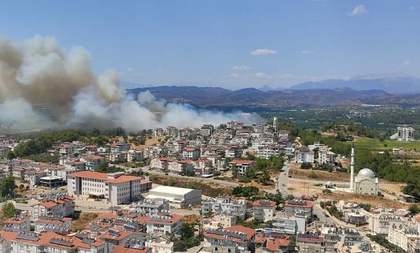Manavgat'ta orman yangını/ Ek fotoğraflar