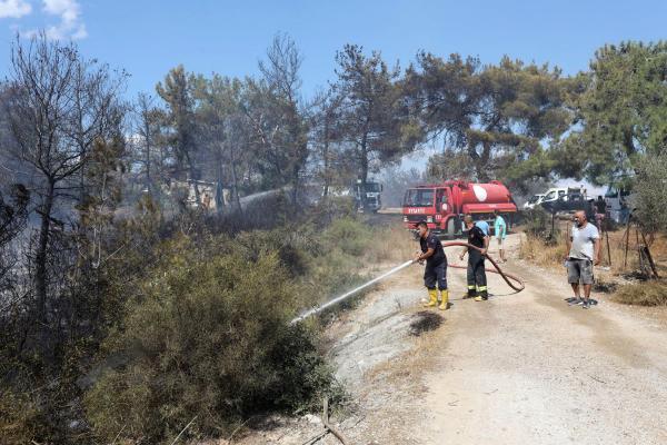 Manavgat'ta orman yangını / Ek fotoğraflar