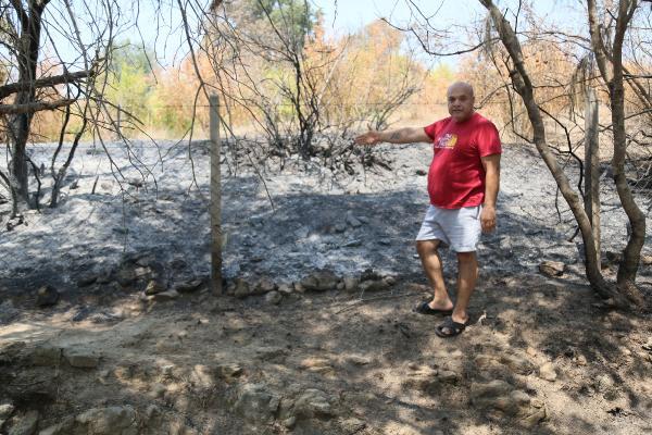 Manavgat'taki büyük yangın 10'uncu gününde (10)