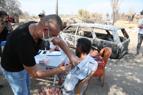 Manavgat'taki büyük yangın 10'uncu gününde (13)