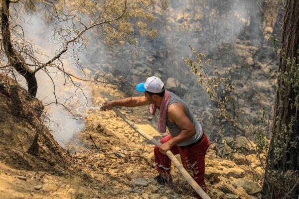 Manavgat'taki büyük yangın 10'uncu gününde (6)