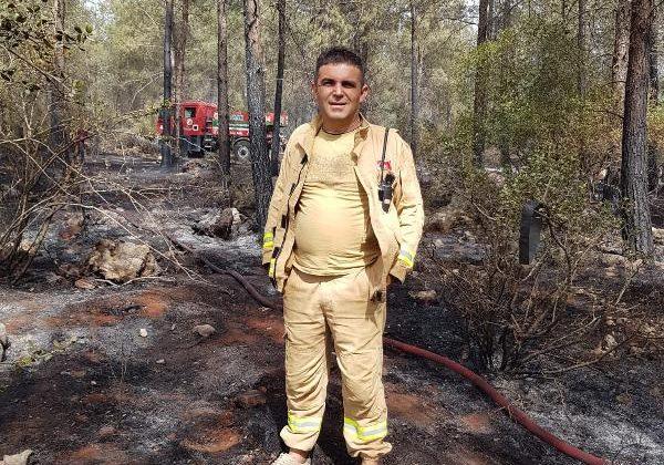 Manavgat'taki büyük yangın 10'uncu gününde/ Ek fotoğraflar