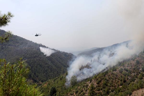 Manavgat'taki büyük yangın 10'uncu gününde
