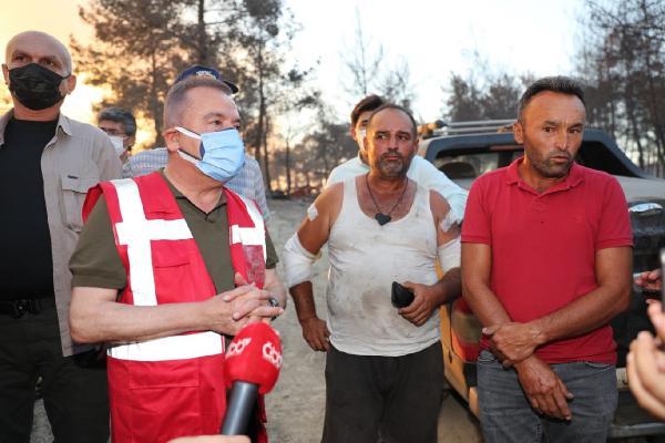 Manavgat'taki büyük yangın 6'ncı gününde (2)