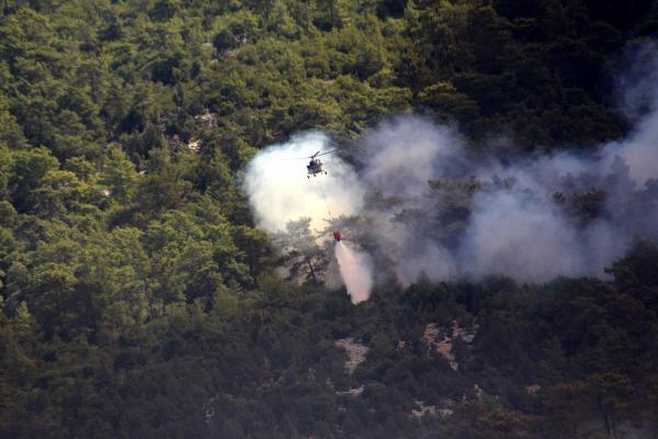 Manavgat'taki büyük yangın 6'ncı gününde (5)