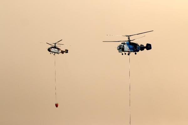 Manavgat'taki büyük yangın 6'ncı gününde/ Ek fotoğraflar