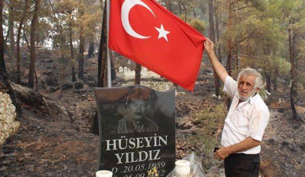 Manavgat'taki büyük yangın 7'nci gününde (12)