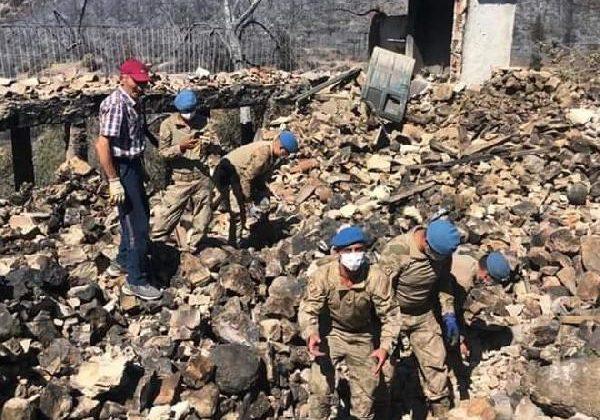Manavgat'taki büyük yangın 7'nci gününde (13)