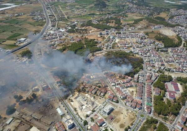 Manavgat'taki büyük yangın 7'nci gününde (18)