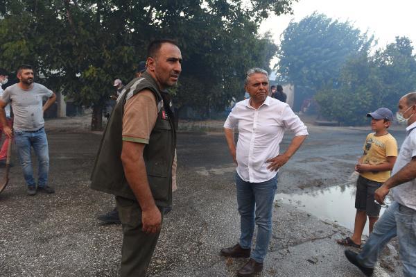 Manavgat'taki büyük yangın 7'nci gününde (5)