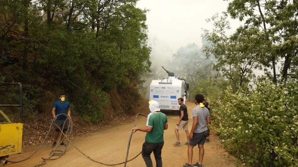 Manavgat'taki büyük yangın 7'nci gününde (7)