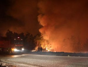 Manavgat'taki büyük yangın 7'nci gününde / Ek fotoğraf