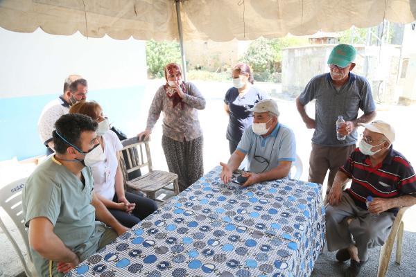 Manavgat'taki büyük yangın 8'inci gününde (2)