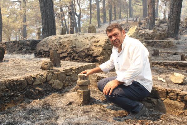Manavgat'taki büyük yangın 8'inci gününde (6)