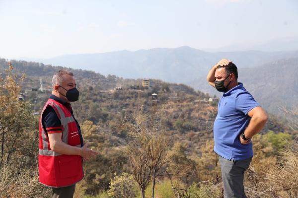 Manavgat'taki büyük yangın 9'uncu gününde (12)