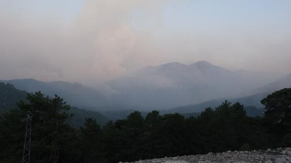 Manavgat'taki büyük yangın 9'uncu gününde (15)