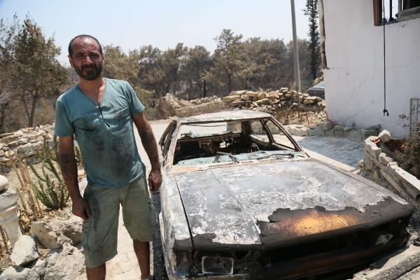 Manavgat'taki büyük yangın 9'uncu gününde (2)